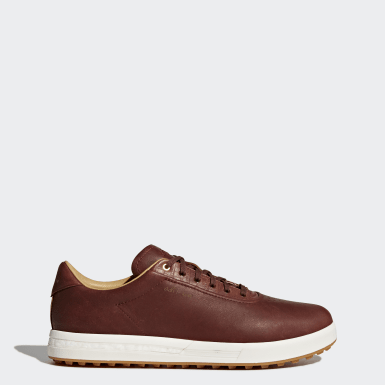 Men Golf Brown Adipure SP Shoes