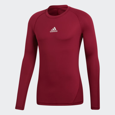 Remera Alphaskin Sport Burgundy Hombre Training