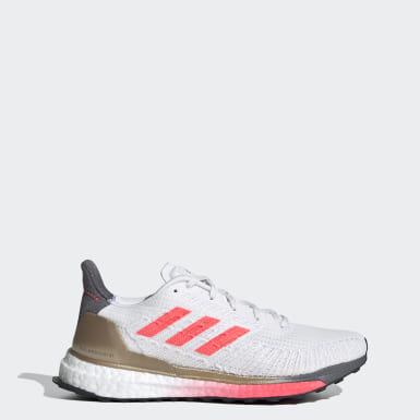 Women Running White Solarboost ST 19 Shoes