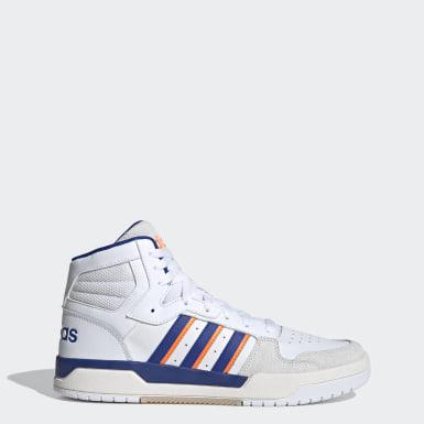 Sapatos Entrap Mid Branco Basquetebol