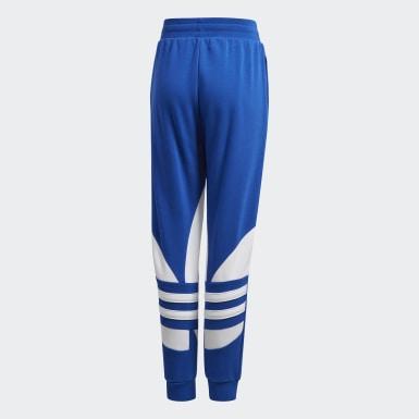 Youth Originals Blue Large Trefoil Pants