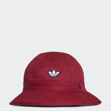 Originals Burgundy Samstag Bucket Hat