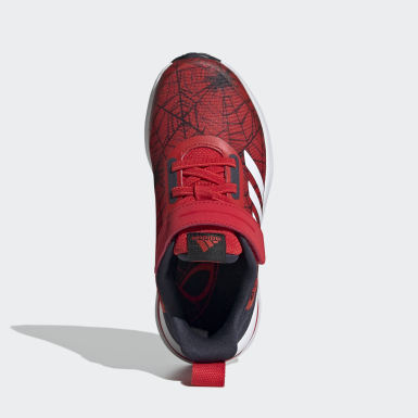 Children Running Red Marvel Spider-Man FortaRun Shoes