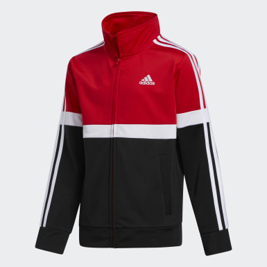Children Training Red Split Jacket