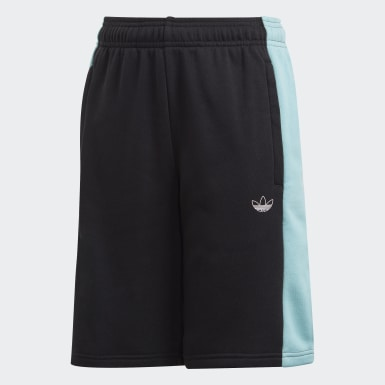 Youth Originals Black Panel Shorts