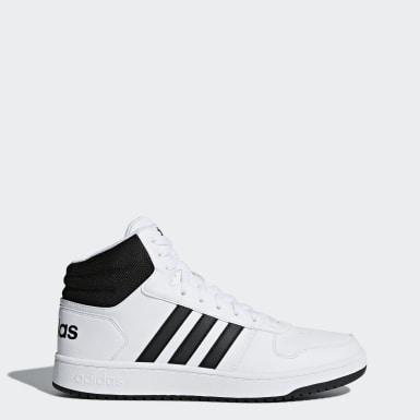 Sapatos VS Hoops Mid 2.0 Branco Basquetebol