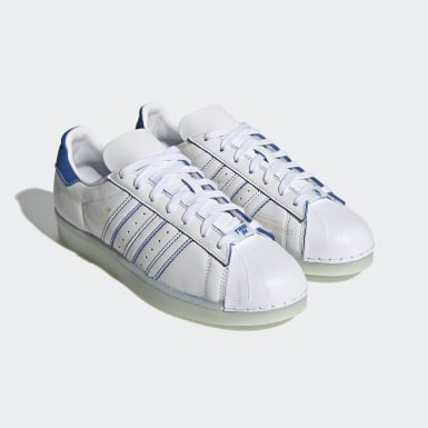 Men's Originals White Ninja Superstar Shoes