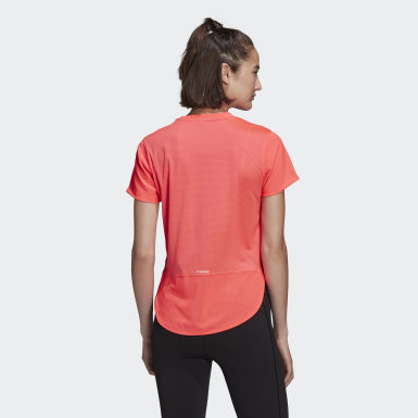 Dames Hardlopen Roze AEROREADY Level 3 T-shirt
