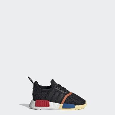 Infant & Toddler Originals Black NMD_R1 Shoes