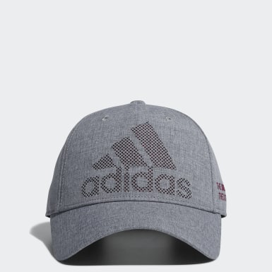 Men Golf Grey Dot Logo Cap