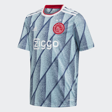 Youth 8-16 Years Football Blue Ajax Amsterdam Away Jersey
