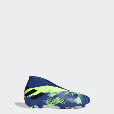 Boys Fotboll Grön Nemeziz 19.3 Firm Ground Boots