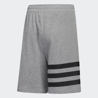 Youth Training Grey YTH BOS 3S SHORT