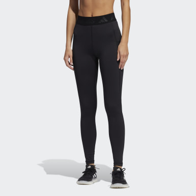 Women's Yoga Black Techfit Badge of Sport Tights
