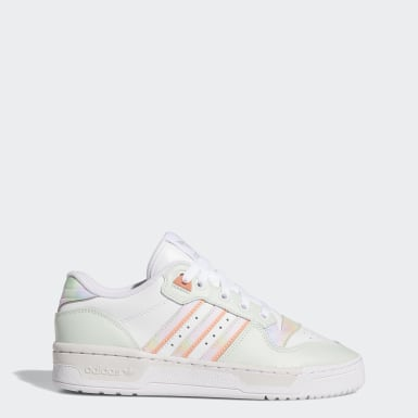 Women Originals White Rivalry Low Shoes