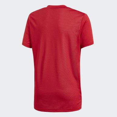 Camiseta entrenamiento Condivo 18 Rojo Niño Training