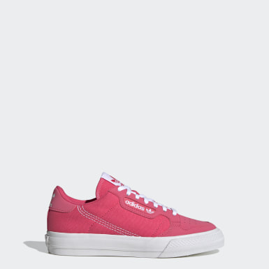 Meisjes Originals Roze Continental Vulc Schoenen