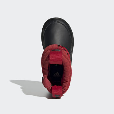 Børn Træning Burgundy RapidaSnow Mickey Mouse snestøvler