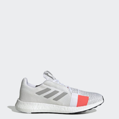 Men Running White Senseboost Go Shoes