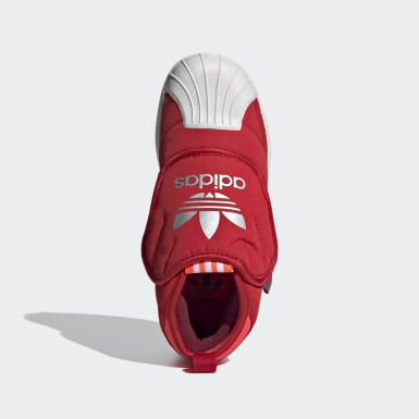 красный Ботинки Superstar 360