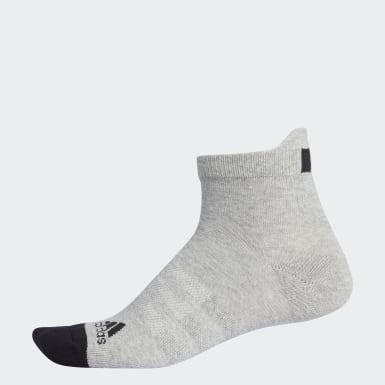 Men Golf Grey Basic Ankle Socks