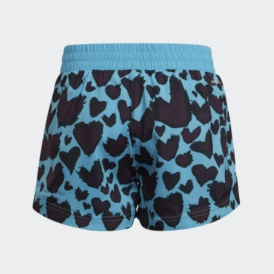 Girls Studio Turquoise AEROREADY Woven Shorts