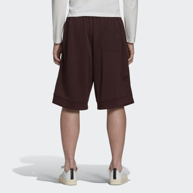 Y-3 CH2 Graphic Shorts Bordeaux Uomo Y-3
