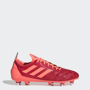 Zapatos de Rugby Malice Terreno Suave Rojo Hombre Rugby
