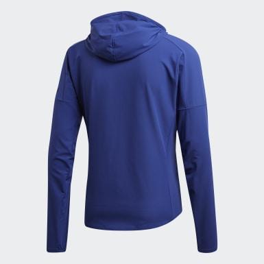 Men Running Blue adidas Z.N.E. Run Jacket