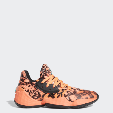 Men Basketball Orange Harden Vol. 4 Shoes