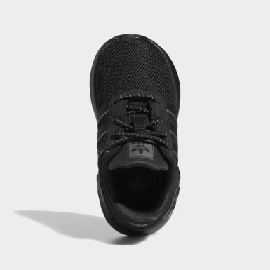 Infant & Toddler Originals Black ZX 2K Flux Shoes