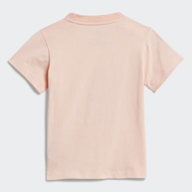 Girls Originals Pink Trefoil T-Shirt