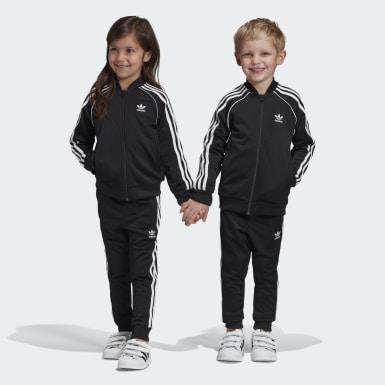 เด็ก Originals สีดำ ชุดแทร็ค SST