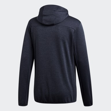 Men TERREX Blue Terrex Climb the City Fleece Jacket