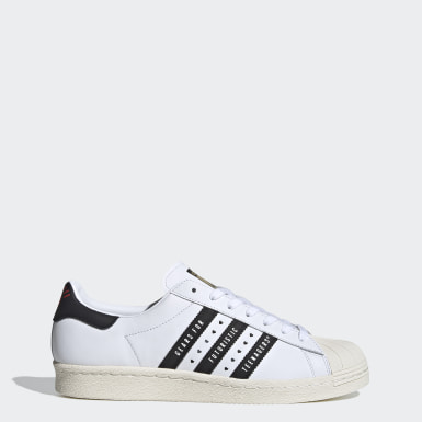 Originals Superstar 80s Human Made Schuh Weiß