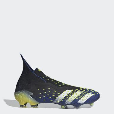 Men Soccer Black Predator Freak+ Firm Ground Boots