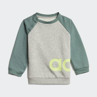 Deti Athletics Siva Tepláková súprava Linear Fleece