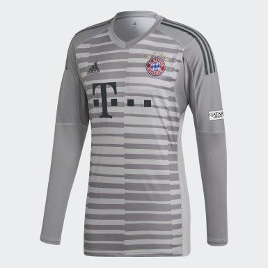 Muži Fotbal šedá Dres FC Bayern Goalkeeper Jersey