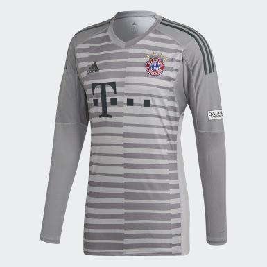 Männer Fußball FC Bayern München Torwarttrikot Grau