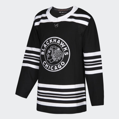 Men's Hockey Multicolor Blackhawks Winter Classic Authentic Pro Jersey