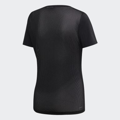 T-shirt Design 2 Move Preto Mulher Treino