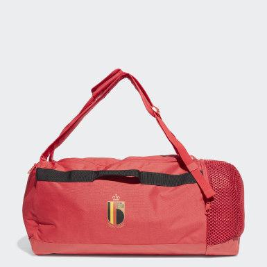 Belgium Duffel Bag Czerwony