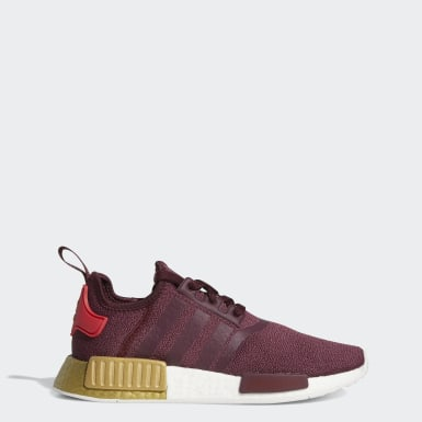 Women's Originals Burgundy NMD_R1 Shoes