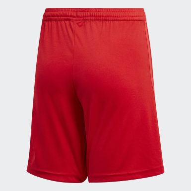 Kids Football Red Real Madrid Third Shorts Youth