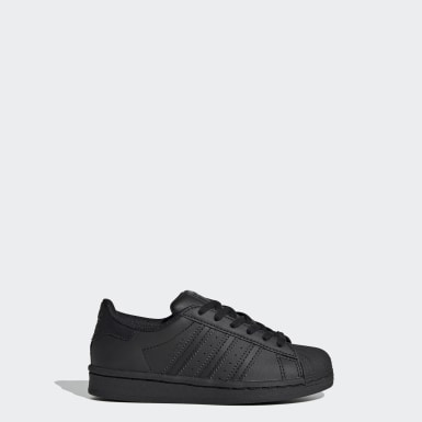 Zapatillas Superstar (UNISEX) Negro Niño Originals