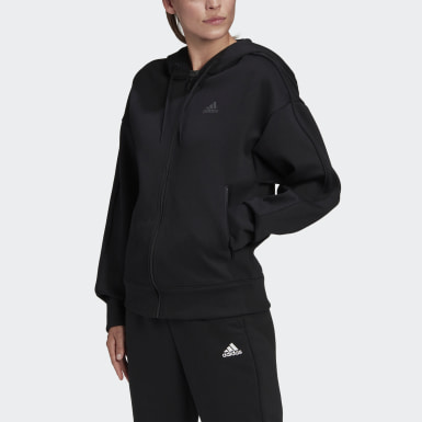 Women's Athletics Black Versatility Full-Zip Hoodie