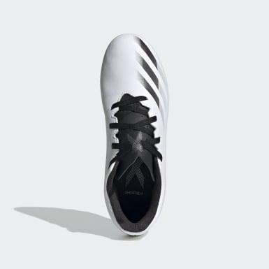 เด็กผู้ชาย ฟุตบอล สีขาว รองเท้าฟุตบอล X Ghosted.4 Flexible Ground