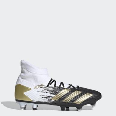 Fodbold Hvid Predator Mutator 20.3 Soft Ground støvler