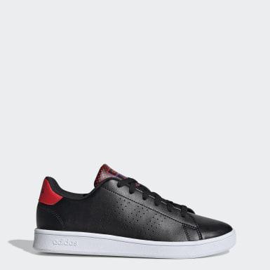 Børn Tennis Sort Advantage sko