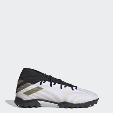 Zapatos de Fútbol Nemeziz .3 Pasto Artificial Blanco Hombre Fútbol